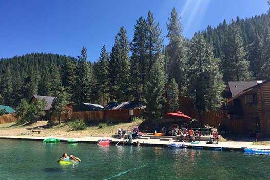 lodging yoga hot springs trinity paradise idaho